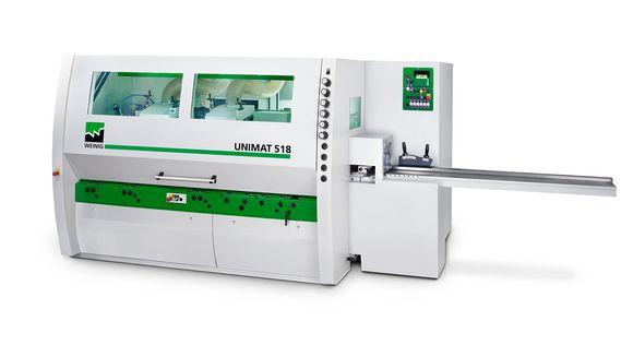 Unimat 500 planing machine / moulder – WEINIG