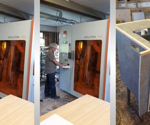 Reference customer Schifer with an vertical processing center EVOLUTION 7405 from HOLZ-HER